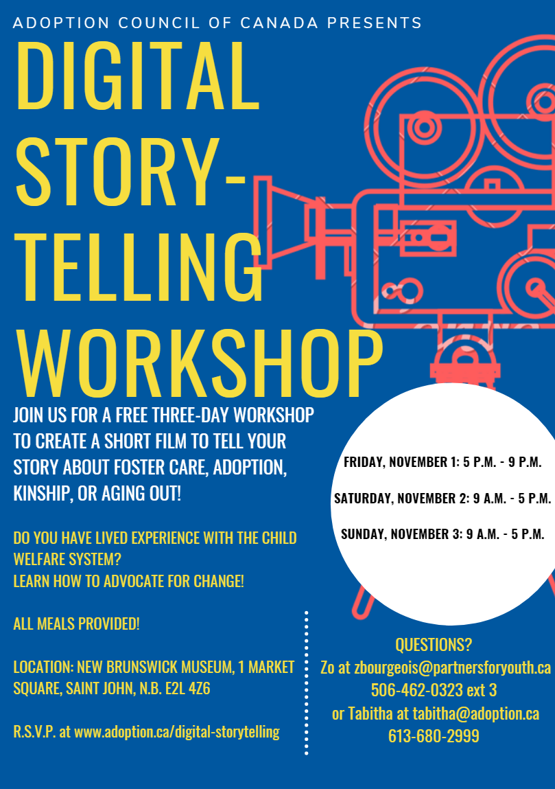 Digital Storytelling Workshop for Youth