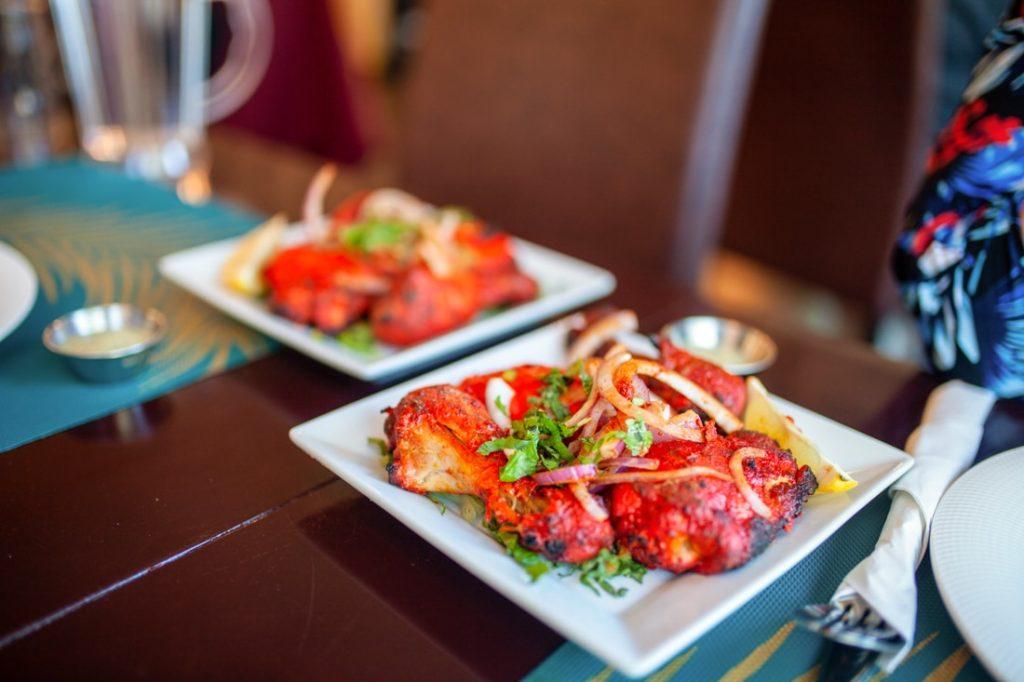Indian food Saint John Royal King taste of India