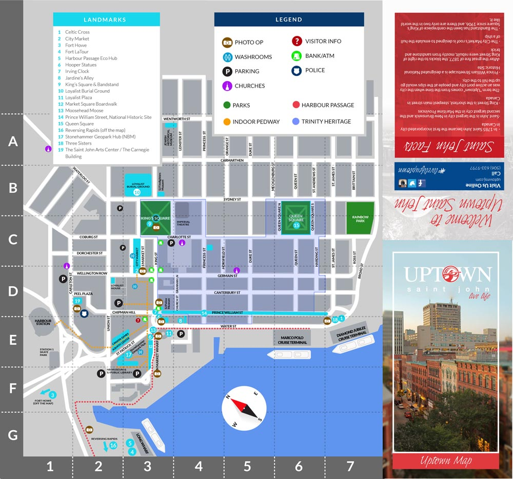 2015 Uptown Map and Directory Uptown Saint John
