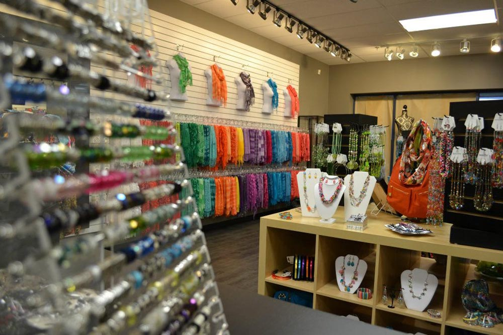 Inspire collections now open in market square uptown for Accessoires shop